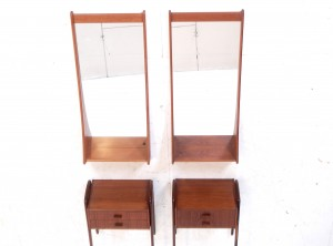 Bedside tables/mirrors
