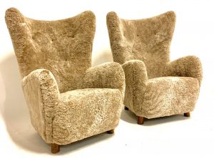 Mogens Lassen lounge chairs
